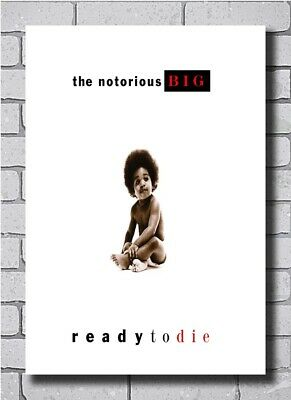 Notorious B.I.G Biggie Smalls Ready to Die 2020 Album Cover 48 27x40 Poster 523