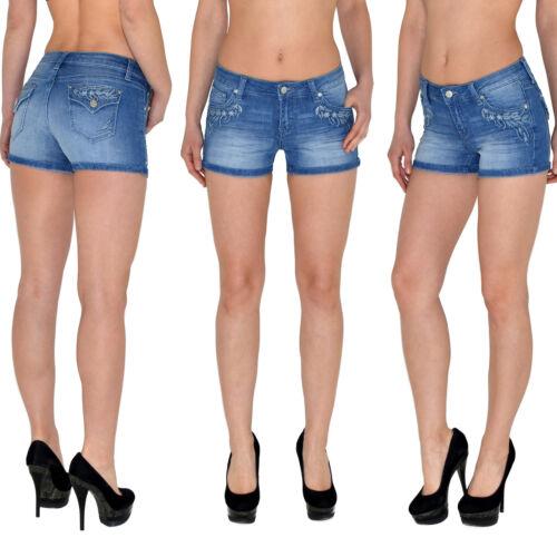 Damen Hotpants Damenshorts Damen Hot-Pants Damen Shorts Damen kurze Hose Z08