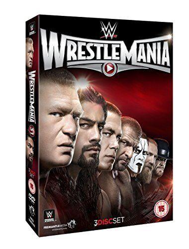 WWE - WrestleMania 31 XXXI (DVD, 2015, 3-Disc Set) New  Region 4