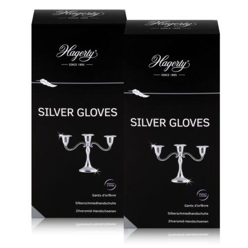 Silberschmiedhandschuhe Hagerty Silver Gloves 2er Pack