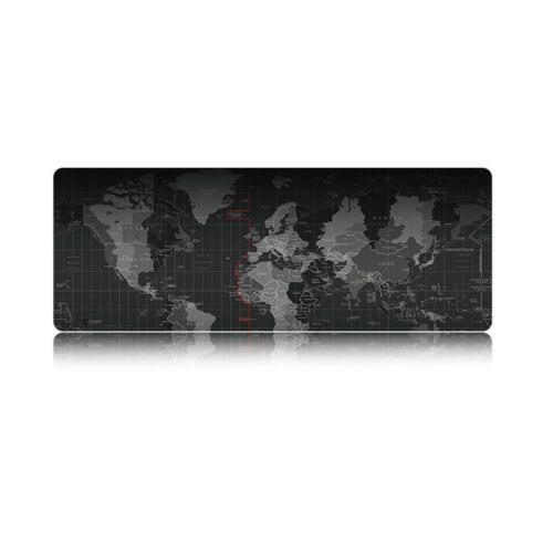 Weltkarte Extended Gaming Maus Pad Laptop Verdickung PC XXL Mauspad 400*900*2mm