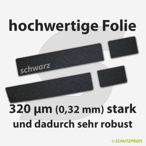 Türschwellerschutzfolien 320 µm schwarz FORD B-MAX ab 2013