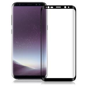 3D-Full-Cover-Schutzfolie-aus-Glas-Echtglas-9H-Hart-fuer-Samsung-Galaxy-S8-Plus