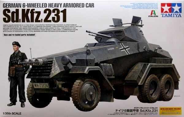 Tamiya 1 35 scale 1 35 6 Wheel Sd.Kfz. 231
