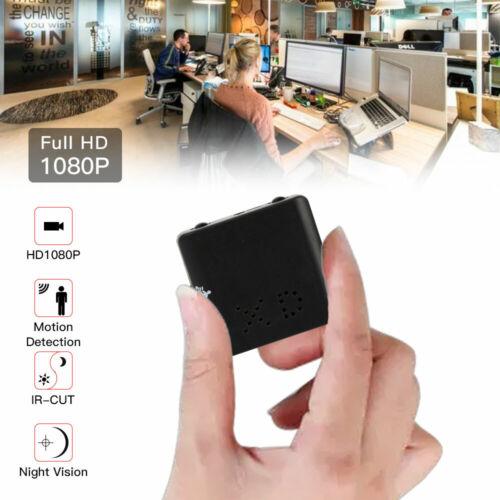 1080P Mini Hidden Spy Camera HD Micro Home Security Cam Night Vision UK Seller