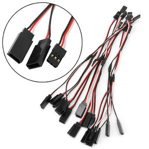 10Pcs-150mm-Y-Style-RC-Extension-Servo-Wire-Lead-Cord-Cable-For-JR-Futaba-15cm