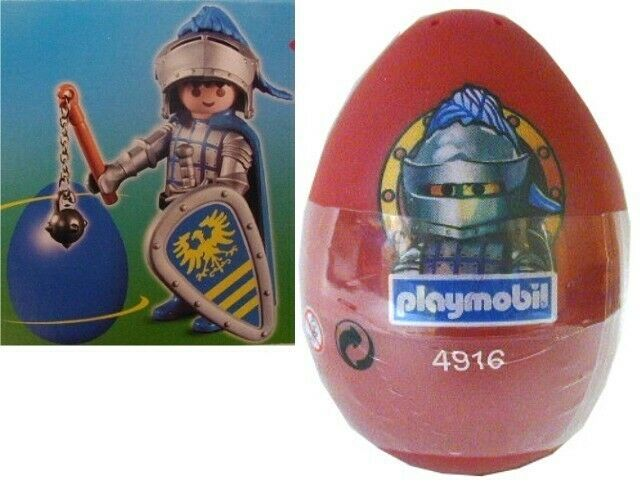72 Easter EGG~4916 Playmobil®~2005 Blue KNIGHT~USA seller~SPECIAL PRICE!