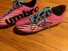 Umbro Arturo 3.0 Girls Kids Soccer Shoes Cleats Pink Size 13k for sale online