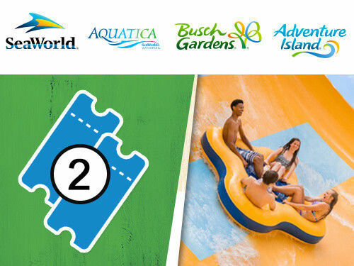 SEAWORLD ORLANDO  TWO PARK TICKETS $89  A PROMO SAVINGS DISCOUNT TOOL