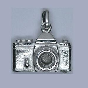 925er Sterling Silber,Top Juwelier Qualität Foto-Kamera Anhänger Silberpoint