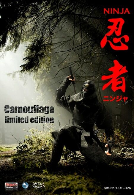 Crazy Owners 1/6 Scale Ninja 12 inch Collectible Figure Camouflage Limited Ver.