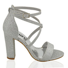 f2fa5fea7d5 item 1 Womens Ankle Strap Block Heel Sandals Ladies Strappy Buckle Prom  Party Shoes 3-8 -Womens Ankle Strap Block Heel Sandals Ladies Strappy  Buckle Prom ...