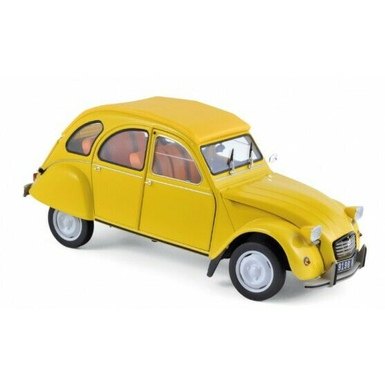 Citroen 2CV 6 Club 1979 Mimosa Yellow 1:18