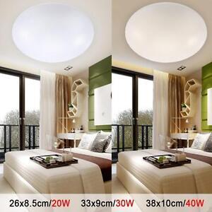 20W 30W 40W Rund Empfangshalle LED Deckenlampe Zimmer Wohnzimmer ...