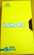 The Honeymooners Jackie Gleason VCR Game Mattel 1986  * VHS Cassette Tape Only