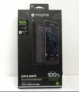 Mophie-juice-pack-Battery-Case-for-Samsung-Galaxy-S6-Edge-3-300mAh-Black