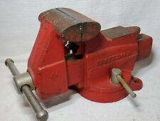 Vintage Craftsman 391 5188 Swivel Bench Mount 4 Vise Pipe Jaw Forming Anvil