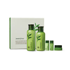 Innisfree Green Tea Balancing Special Skin Care Set Free gifts