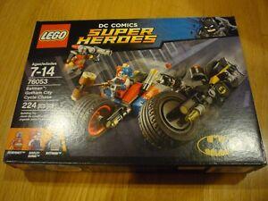 NEW 76053 LEGO BATMAN GOTHAM CITY CYCLE CHASE SET BRAND NEW FACTORY SEALED