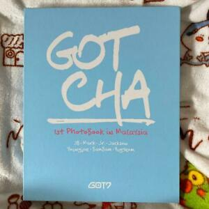 GOT7-GOTCHA-1st-Photobook-in-Malaysia-photobook-only-NO-DVD-photocard