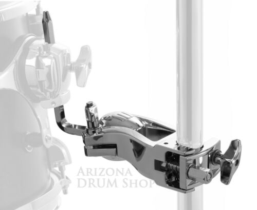 Chrome  NEW! Clamp Mapex Mapex SONIClear Tom Holder