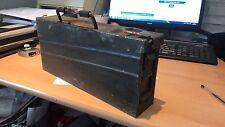 Original GERMAN MG3 AMMO TIN Metal Ammunition Can Storage Box WW2 Army MG42 MG34