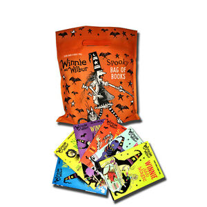 Winnie-and-Wilbur-Spooky-Bag-of-Books-Collection-6-Books-Collection