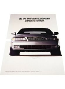1993-Infiniti-Q45-2-page-Vintage-Advertisement-Car-Print-Ad-J407