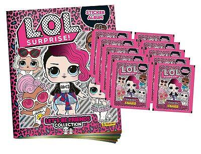 Panini Lol L.o.l surprise sticker 20 bolsas 100 imágenes-nuevo Booster