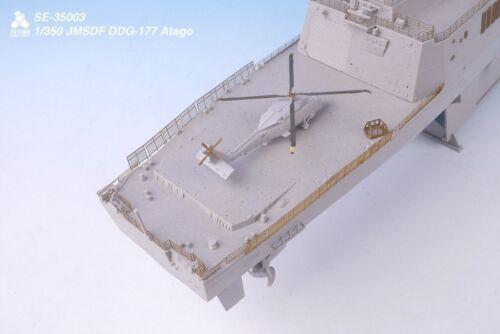 Tetra Model SE35003 1//350 JMDSF DDG-177 Atago Detail Set for Trumpeter
