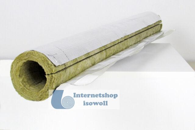 Sanitär Solar 1mtr Steinwolleschale Rockwool R800 28//30 für Heizung
