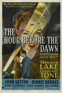 The-hour-before-dawn-Veronica-Lake-movie-poster-11
