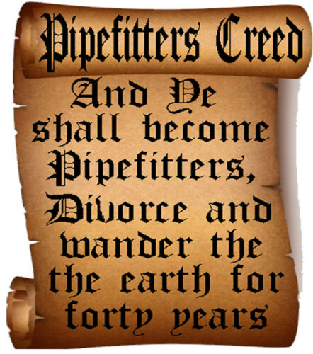 CP-11 the pipefitter creed