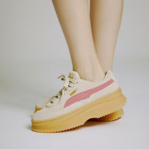 Details about PUMA Deva Suede Wns - Beige Pink / 37242310 / Womens Shoes Sneakers