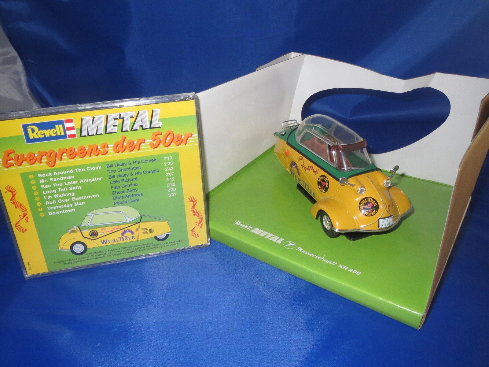 Revell  08970  Messerschmitt  KR  200 & CD EverGrüns der 50er`  1 18  OVP  | Flagship-Store