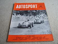 Autosport September 4th 1953 *Nurburgring 1000 kms*