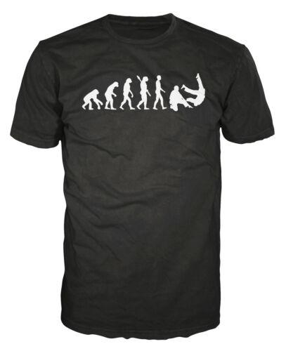 Judo Evolution Funny MMA Martial Arts Grappling Olympic Sport T-shirt