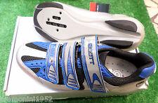Scarpe SCOTT USA road bike corsa SPD shoes size taglia 41 race team silver blue