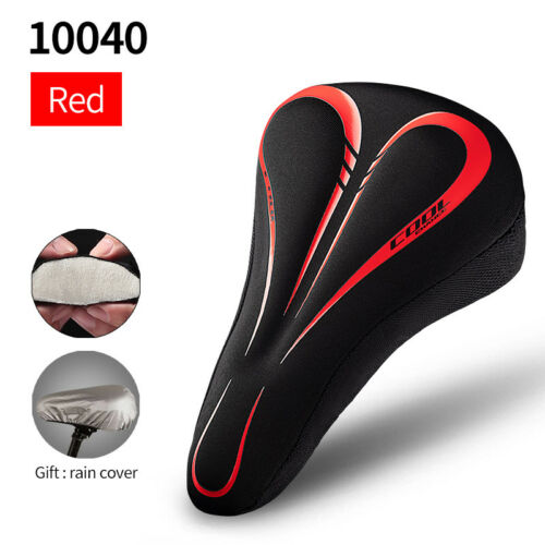 Comfort Bike Seat Cushion Soft Pad Cycling Mountain Road Bicycle Saddle Cover