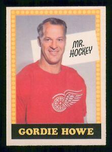 GORDIE HOWE MR. HOCKEY 69-70 O-PEE-CHEE 1969-70 NO NUMBER EX+ EXMINT 18215