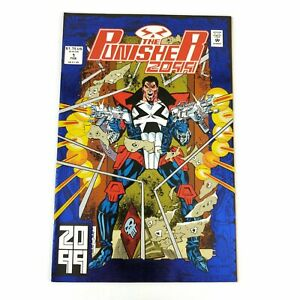 Marvel-Comics-PUNISHER-2099-1-Foil-Cover-1992-Direct-Edition-Deadly-Genesis
