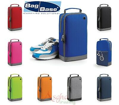 BagBase Plain Athleisure Sports Football Rugby Boots Trainers Shoe Accessory Bag