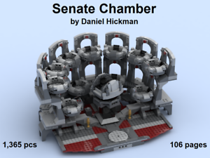 custom-Lego-Star-Wars-Senate-Chamber-instruction-manual-only