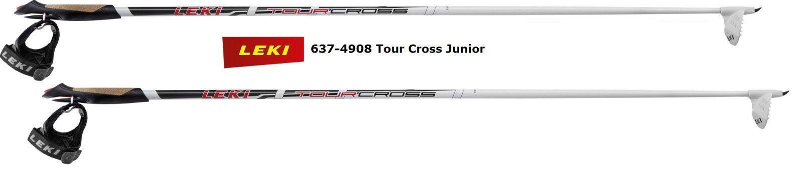 LEKI LEKI LEKI Tour Cross Junior Langlaufstöcke 6374908 - Trigger Shark - Racing Basket 06c79c