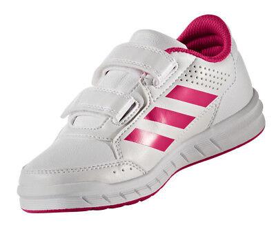 Adidas Girls Kids Shoes Running AltaSport Fashion Trainers Gym School New BA9450 | eBay