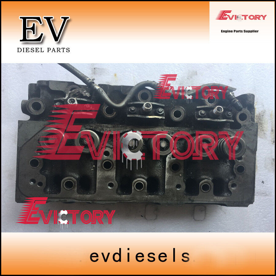 Genuine yanmar 3D88 3D88E 3TNE88 cylinder head assy for