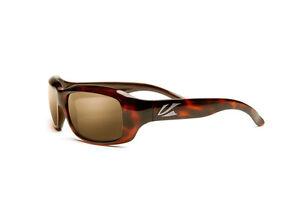 Kaenon Bolsa Sunglasses Tortoise Frame B12 Brown Lens MSRP $144