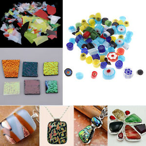 3Set-Jewelers-Scrap-Dichroic-Glass-28g-COE-90-Fusible-Glass-DIY-Earring-Pendants