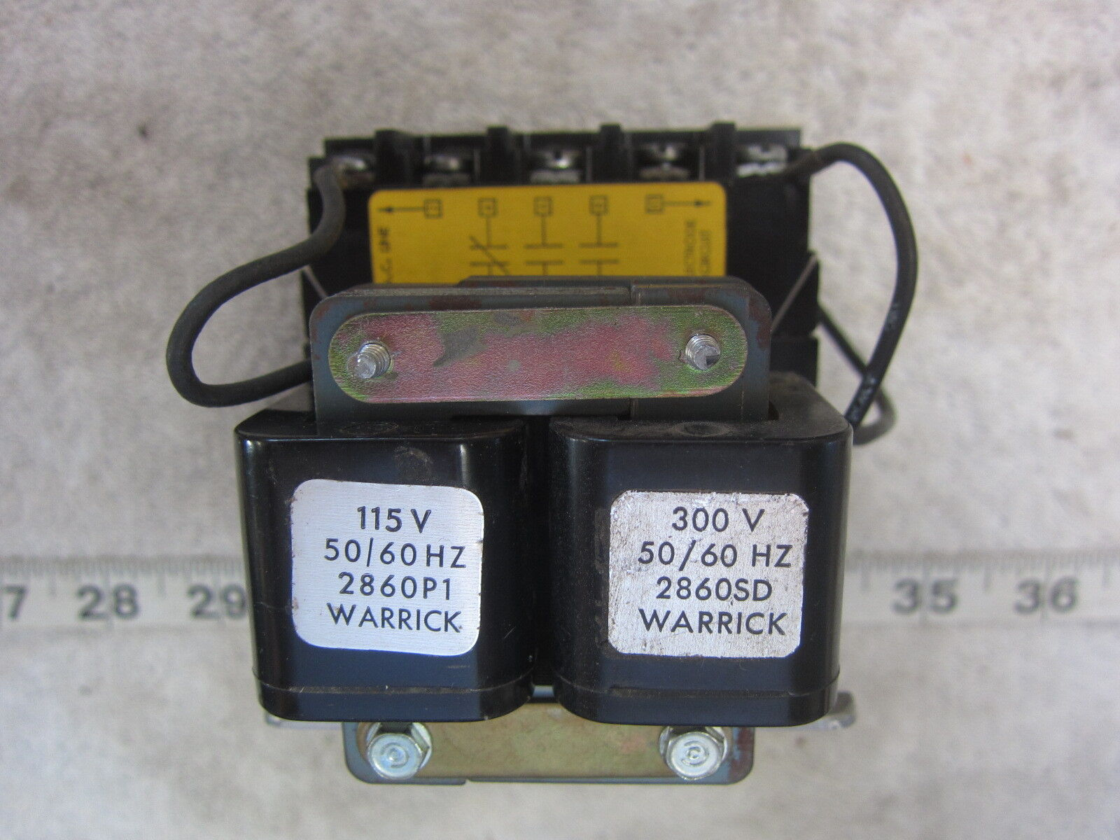 WARRICK CONTROLS 2860SD