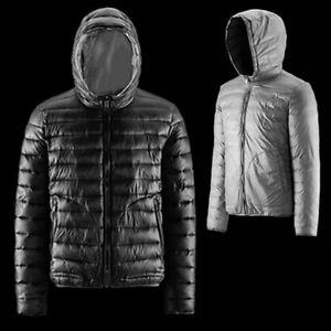 Dettagli su PIUMINO Bomboogie bicolore JM50D3 UOMO grigio reversibile giacca XXL grey